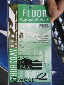 Floor pass